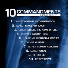 10 comandments