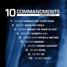 10 comandments