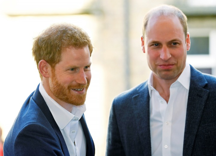 Britain's Prince Harry (L) and Britain's Prince William, Duke of Cambridge arrive to open Greenhouse Sports Centre in central London on April 26, 2018, which will provide sport, coaching and social facilities for young people in the surrounding community. - Britain's Prince Harry has finally asked Prince William to be his best man at his wedding next month, Kensington Palace confirmed Thursday, reinforcing the brotherly bond between them. (Photo by Toby Melville / POOL / AFP) (Photo credit should read TOBY MELVILLE/AFP/Getty Images)